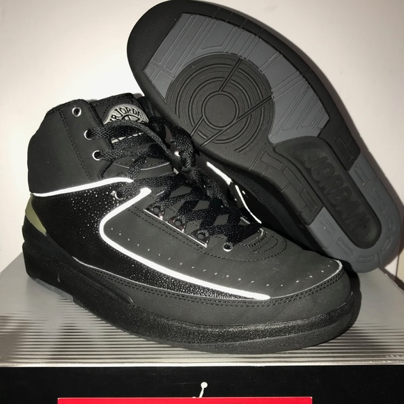 on sale 4d508 d2c72 Air Jordan 2 2004 Retro RARE Black/Chrome colorway